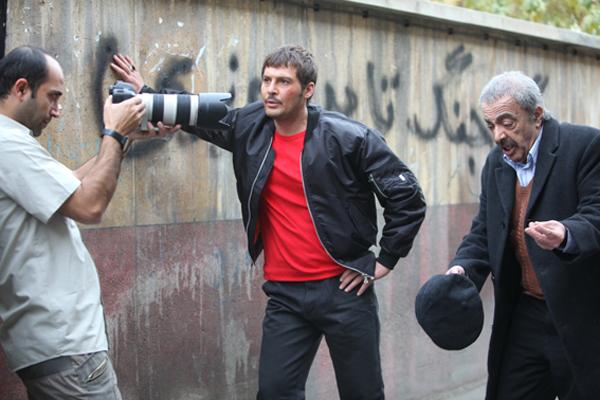 تصاویری از پشت صحنه فیلم معراجی ها