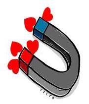 آهن ربایی برای جذب دل ها