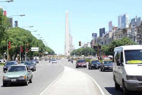 پهن ترین خیابان جهان +تصاویر