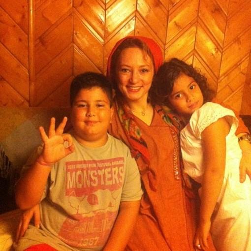 سحر ولدبیگی به همراه خانواده /عکس