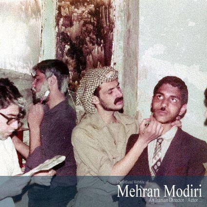 مهران مدیری در حال اصلاح /عکس