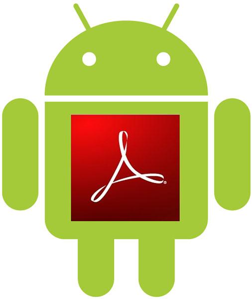 دانلود برنامه مشاهده فایل های پی دی اف در اندروید  Adobe Reader v10.6.1