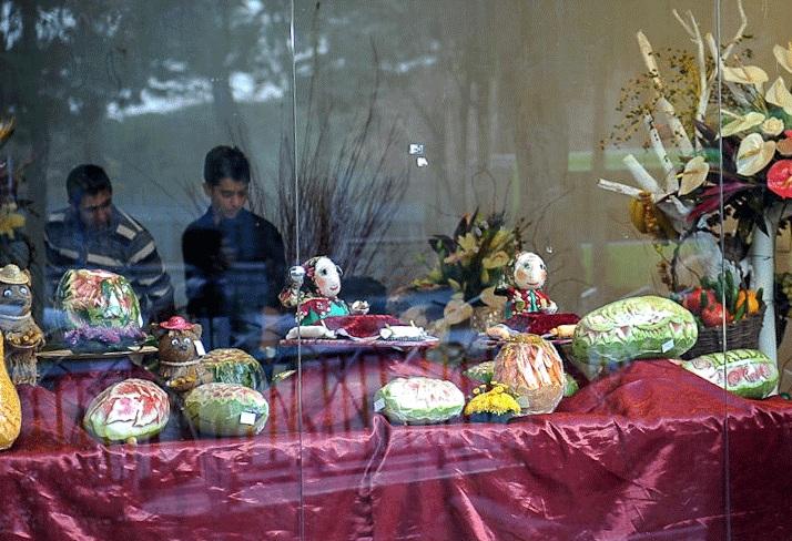 تزئینات زیبای شب یلدا