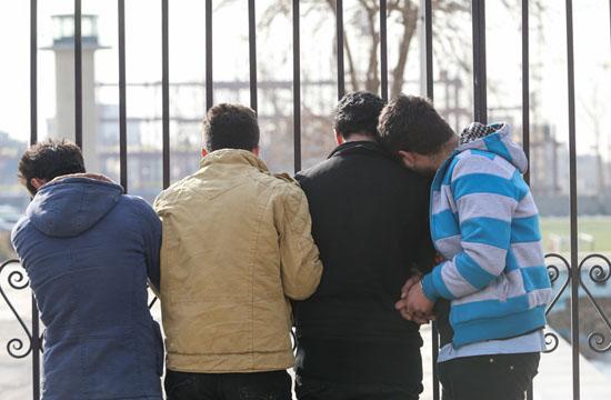 دستگیری 88 نفر از اراذل و اوباش پایتخت +تصاویر