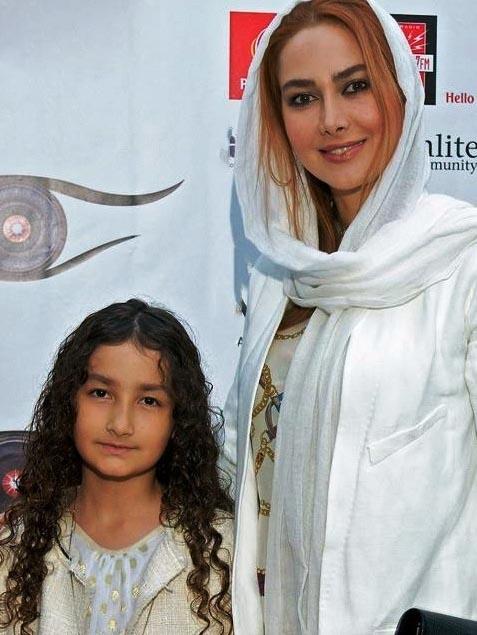 آنا نعمتی و دخترش در لس آنجلس /عکس