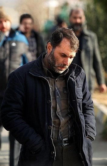 مسعود ده نمکی پس از وقوع انفجار /عکس