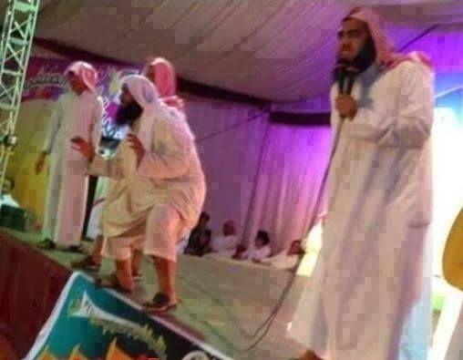 مجریان برنامه کودک عربستان /عکس