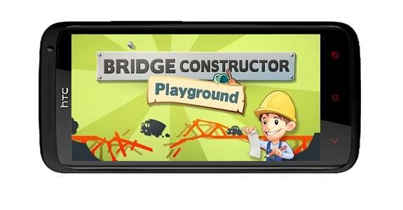 دانلود بازی جذاب پل سازی Bridge Constructor Playground برای اندروید