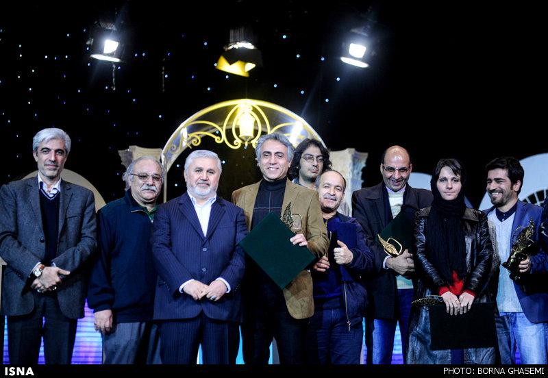 تصاویر متفاوت بازیگران در جشنواره جام جم