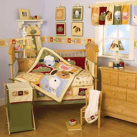 چیدمان و دکوراسیون اتاق نوزادان /تصاویر