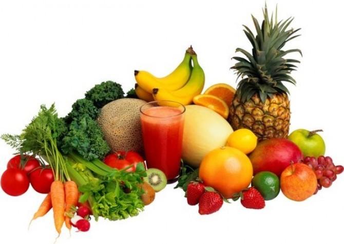 فواید رژیم میوه و سبزیجات
