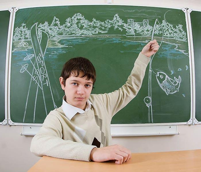 تصاویر طنز و باحال در مدرسه