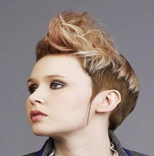 مدل موهای کوتاه و فشن دخترانه 2014
