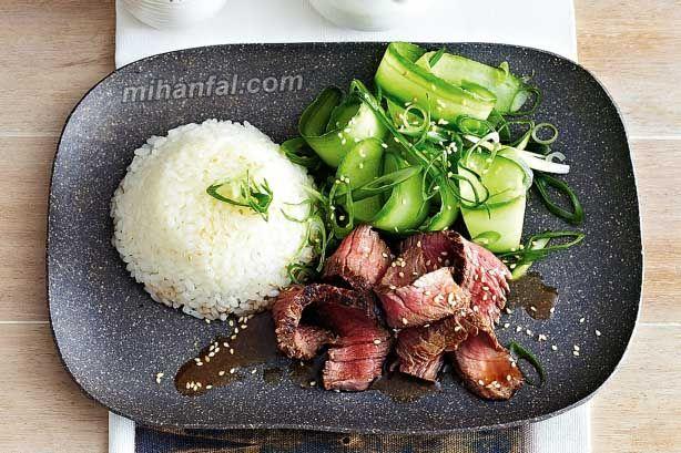 طرز تهیه چلو کباب ژاپنی
