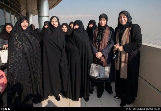 همسران ظریف و روحانی و جهانگیری /عکس