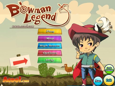 دانلودی کم حجم افسانه کماندار Bowman Legend برای کامپیوتر