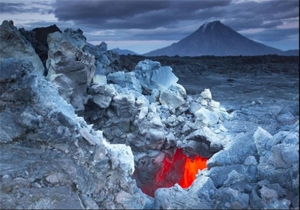 آتشفشان از نمای نزدیک +تصاویر