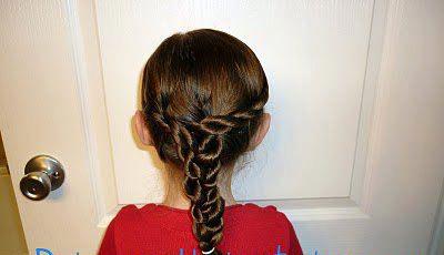 مدل مو دخترانه مخصوص کوچولوها برای مهمانی