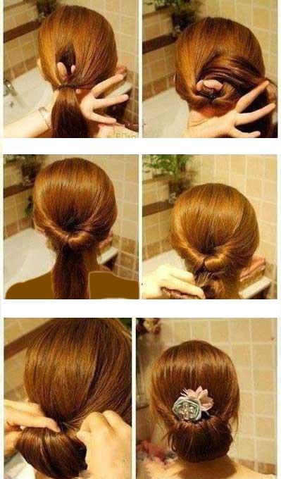 آموزش بستن مو در منزل تصویری