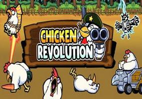 دانلود بازی هیجان انگیز Chicken Revolution  خروس جنگی برای اندروید
