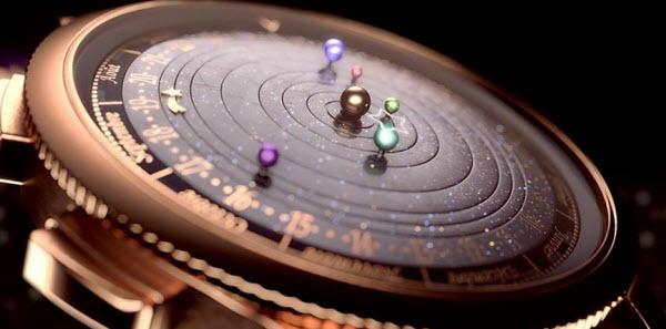 یک ساعت مچی بینظیر کهکشانی