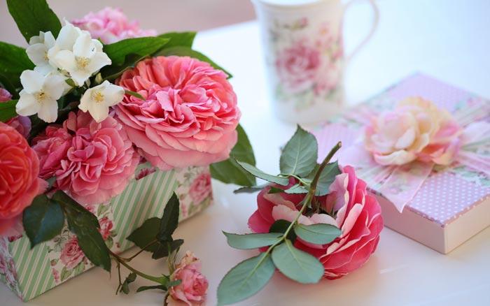 26 تصاویر تزئینات فوق العاده زیبا با گل رز