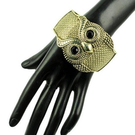 مدل دستبند دخترانه اسپرت در طرح جغد