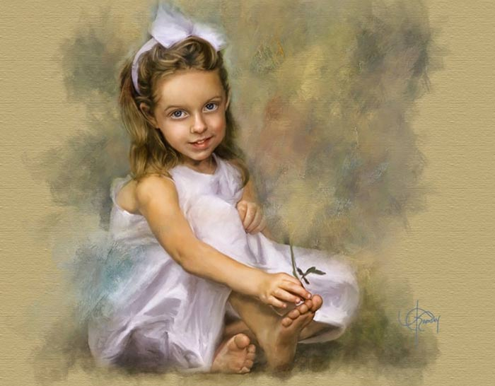 زیباترین نقاشی ها از کودکان