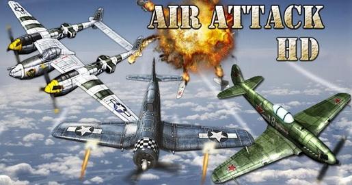 دانلود بازی Air Attack HD  جنگ های هوایی برای اندروید