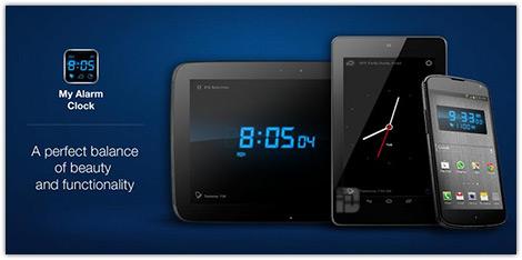 دانلود نرم افزار My Alarm Clock v2.1 ساعت زنگ دار برای اندروید