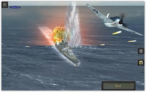 دانلود بازی ناو جنگی   Pacific Fleet v2.06 برای اندروید