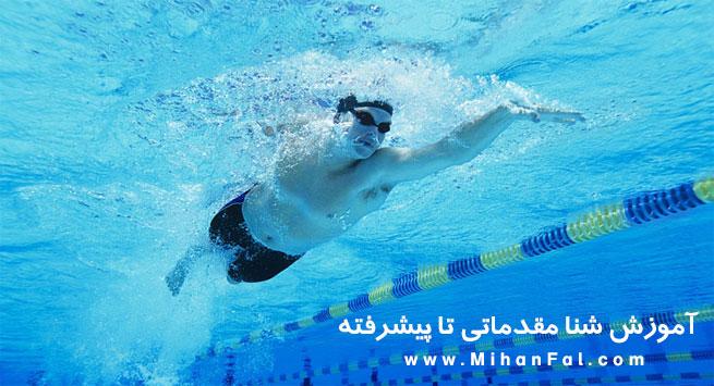 دانلود آموزش شنا از مقدماتی تا پیشرفته به زبان فارسی