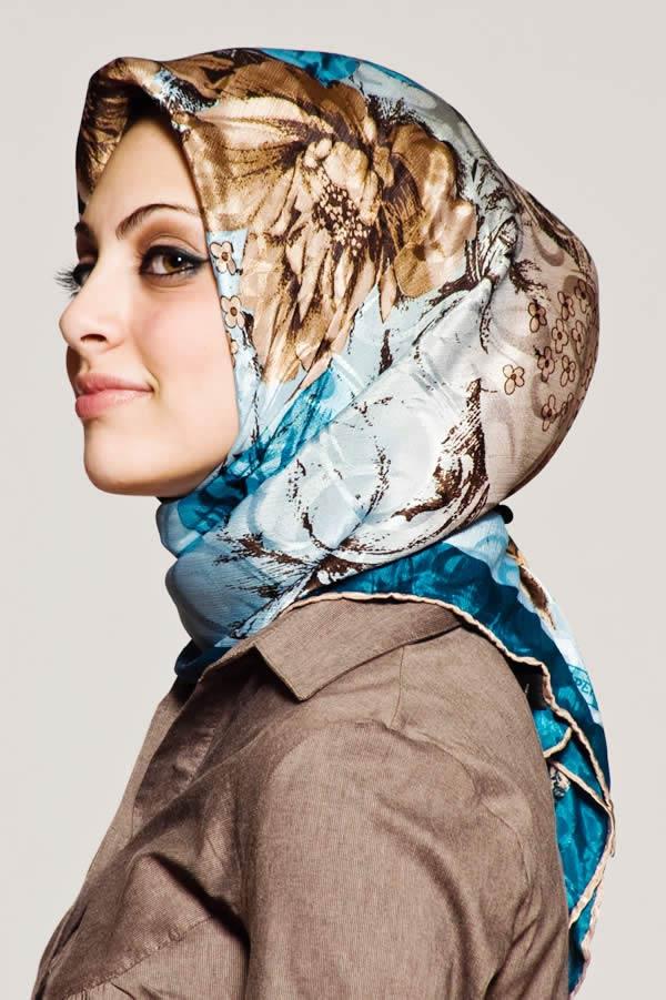 نحوه بستن روسری های مجری صدا سیما آموزش بستن شال (تصویری) - مهارت های زندگی.