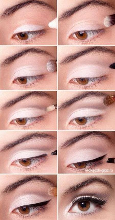 آموزش گام به گام کشیدن خط چشم و سایه