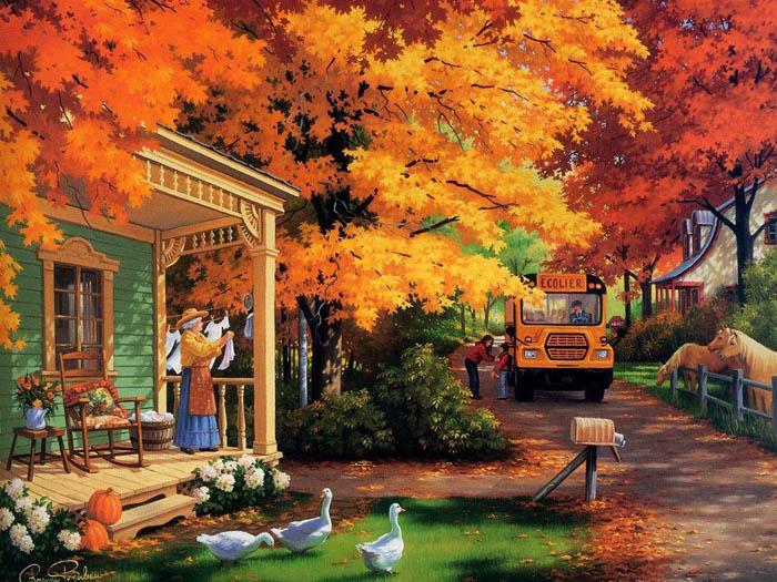 عکس های بسیار زیبا از فصل پاییز