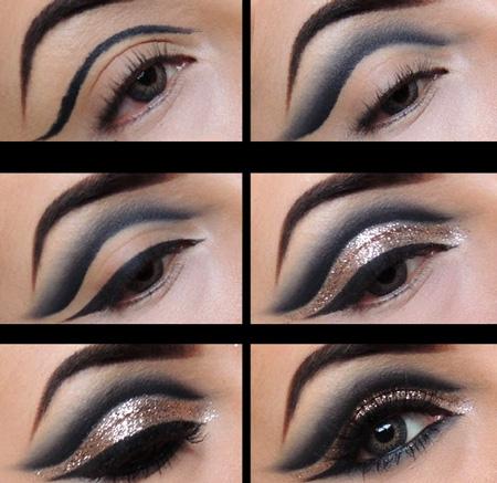 آموزش آرایش چشم در منزل