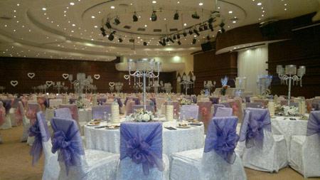 تصاویری از چیدمان تزیین تالار عروسی