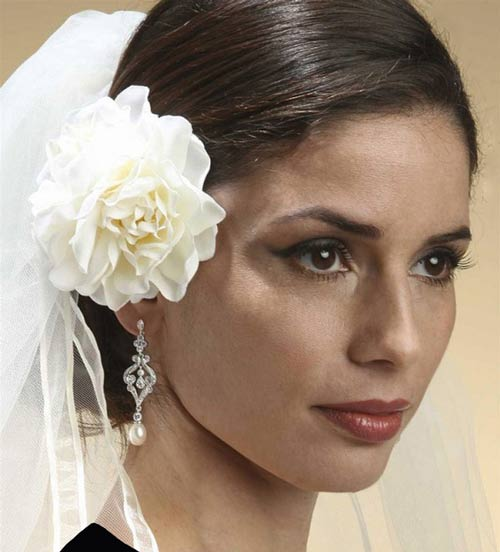 مدل مو عروس و بسیار ساده