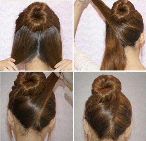 بستن مو بطور اسان و جمع و جور