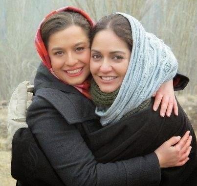 مهناز افشار در آغوش شریفی نیا /عکس