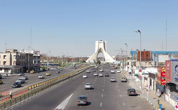 تهران بدون ترافیک در ایام نوروز /تصاویر