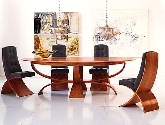 مدل های شیک و زیبای میز نهارخوری 93