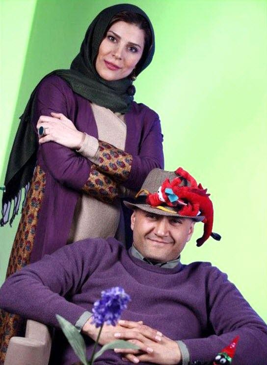 رامبد جوان و همسرش سحر دولتشاهی /تصاویر