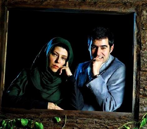 شهاب حسینی و همسرش پریچهر قنبری /تصاویر