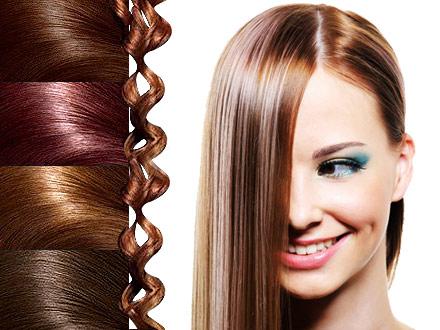 انتخاب مدل مو و رنگ مو مناسب
