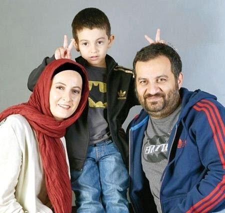شقایق دهقان در کنار همسرش محراب قاسم خانی /تصاویر