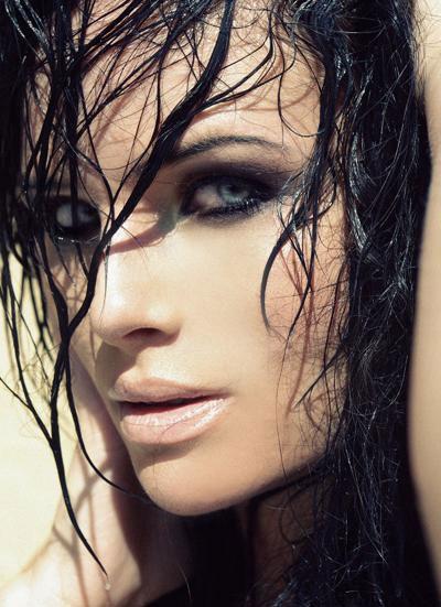 مدل موی خیس دخترانه 93