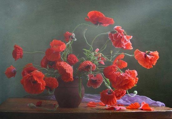 گل و گلدان های فوق العاده زیبا و دیدنی /تصاویر