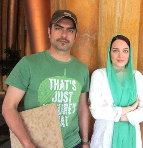 بهنوش طباطبایی در کنار همسرش مهدی پاکدل /تصاویر