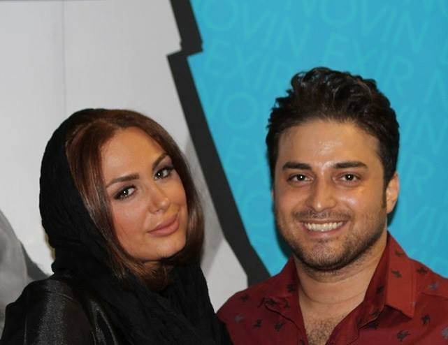 بابک جهانبخش در کنار همسرش /تصاویر